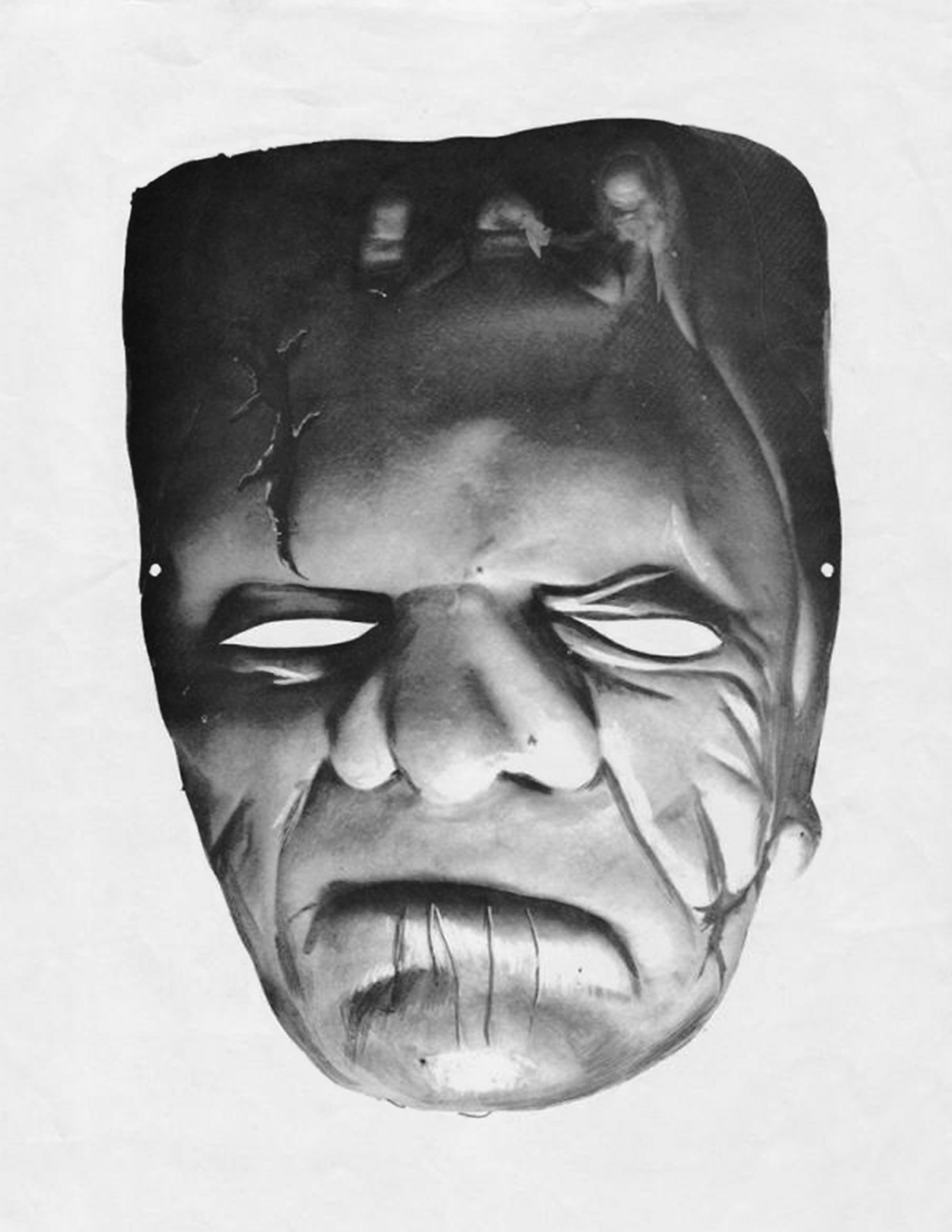 Bonus Frankenstein Monster Mask