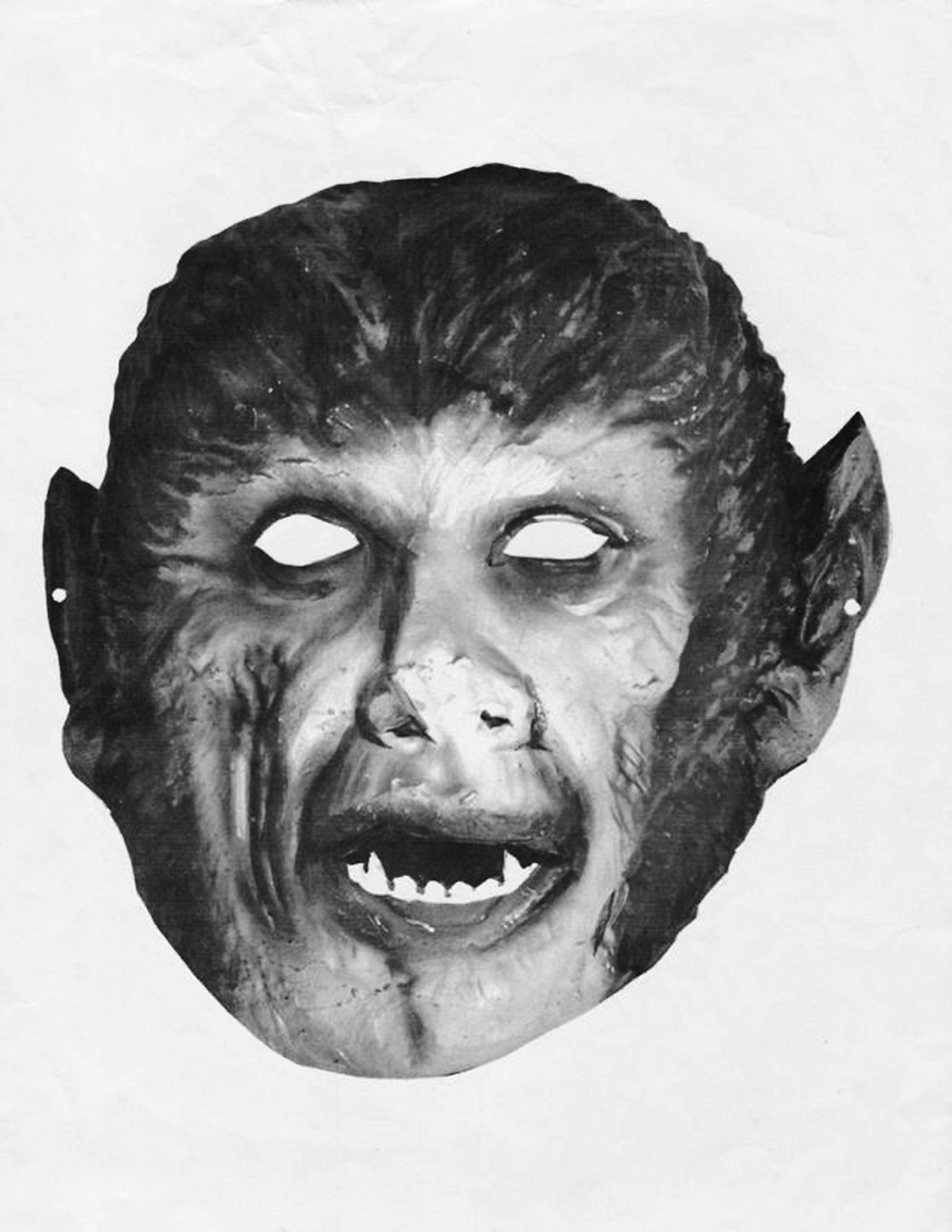 Bonus Werewolf Monster Mask