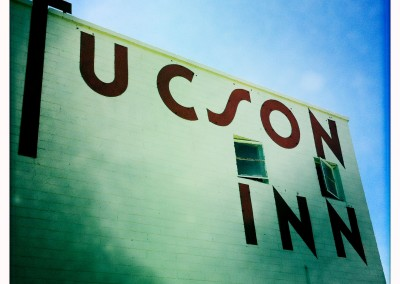 Not-so-world-famous Tucson Inn sign.