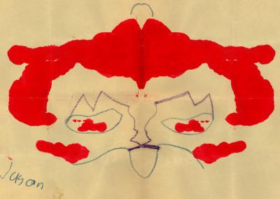 Paint Blot, 1974 by Jason Willis