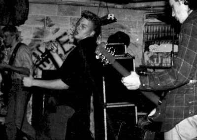 Short Notice live at the Heartland Skaters benefit show at the Outhouse, Sat Feb 8, 1986 - 03 by Jason Willis