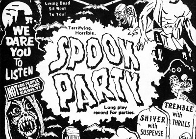 Spook Party CD Front (Scar Stuff, 2000) by Jason Willis
