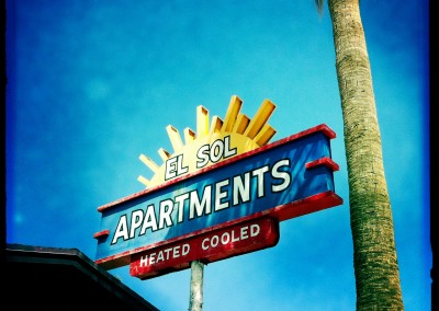 The El Sol Apartments are heated cooled.