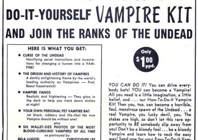 Vintage Monster Magazine Ad 01