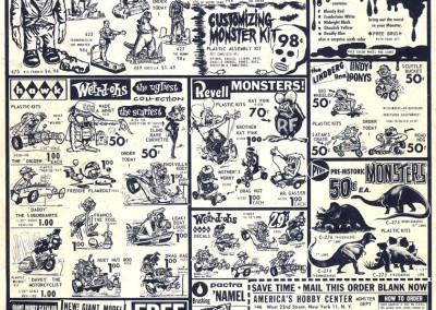 Vintage Monster Magazine Ad 04