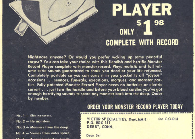 Vintage Monster Magazine Ad 09