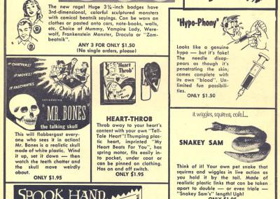 Vintage Monster Magazine Ad 11