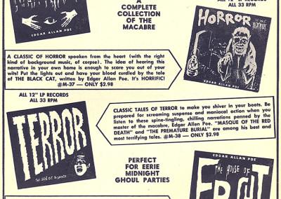 Vintage Monster Magazine Ad 13