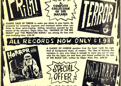 Vintage Monster Magazine Ad 14