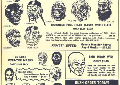 Vintage Monster Magazine Ad 15