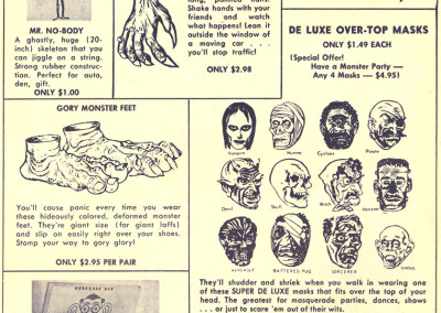 Vintage Monster Magazine Ad 17