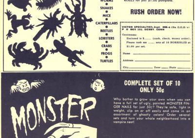 Vintage Monster Magazine Ad 18