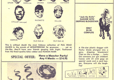 Vintage Monster Magazine Ad 19