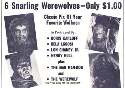 Vintage Monster Magazine Ad 21