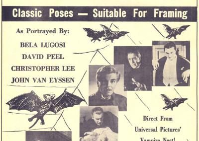 Vintage Monster Magazine Ad 22