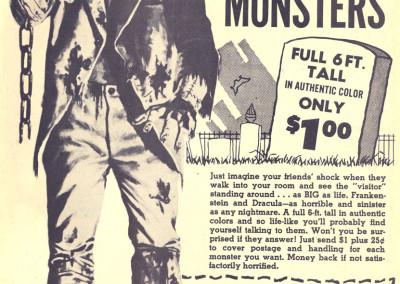 Vintage Monster Magazine Ad 24