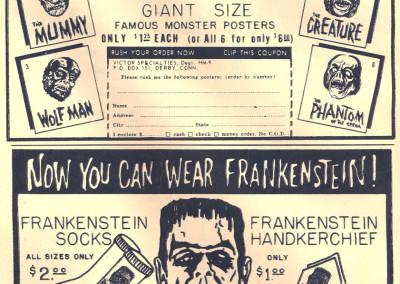 Vintage Monster Magazine Ad 26