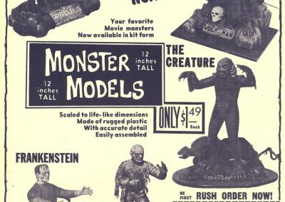 Vintage Monster Magazine Ad 27
