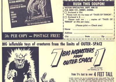 Vintage Monster Magazine Ad 28