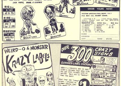 Vintage Monster Magazine Ad 29