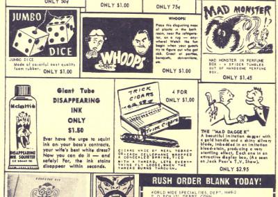 Vintage Monster Magazine Ad 30
