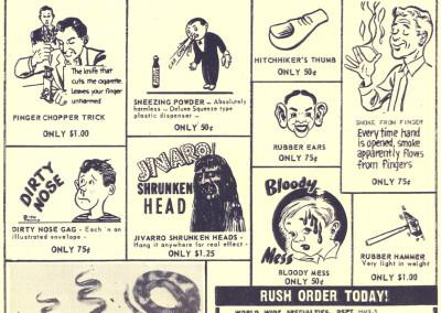 Vintage Monster Magazine Ad 31