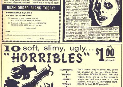 Vintage Monster Magazine Ad 33