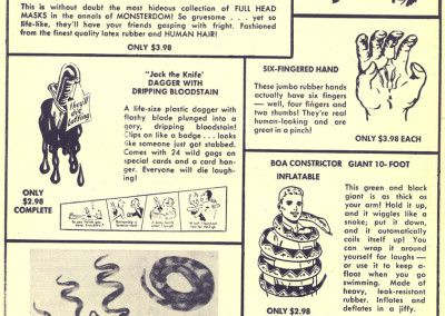 Vintage Monster Magazine Ad 34