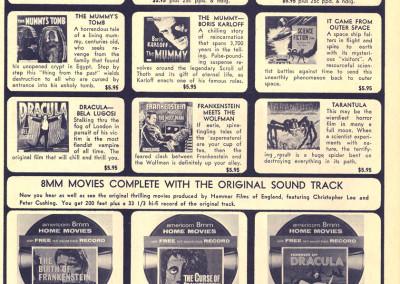 Vintage Monster Magazine Ad 44