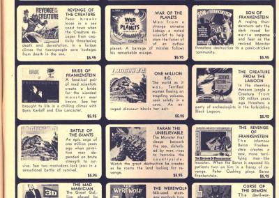 Vintage Monster Magazine Ad 45