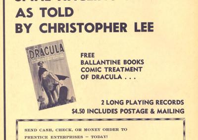 Vintage Monster Magazine Ad 47
