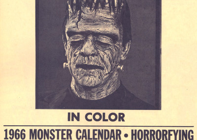 Vintage Monster Magazine Ad 49