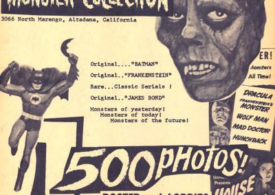 Vintage Monster Magazine Ad 50