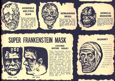 Vintage Monster Magazine Ad 52