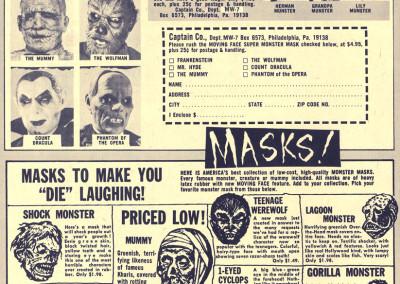 Vintage Monster Magazine Ad 53