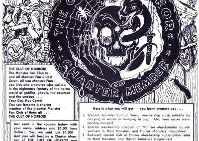 Vintage Monster Magazine Ad 54