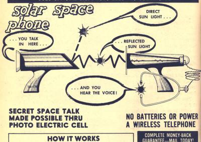 Vintage Monster Magazine Ad 60