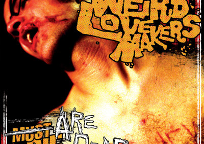 Weird Lovemakers - Are Dead - CD Front Cover (2000/Never)
