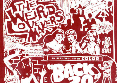 Weird Lovemakers - Back 20 - CD Front Cover (Star Time, 2000)