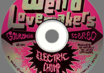 Weird Lovemakers - Electric Chump - CD Face (Gouramie, 1996)