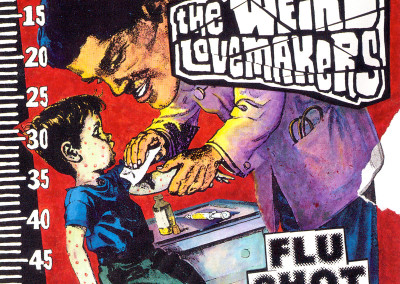 Weird Lovemakers - Flu Shot - CD/LP Front Cover (eMpTy Records, 1998)