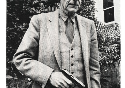 William S. Burroughs, 1990