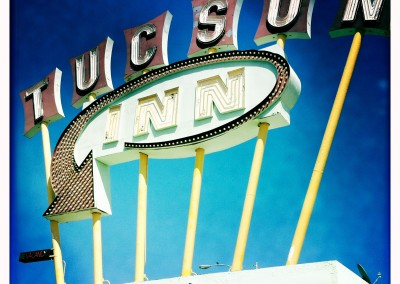 World-famous Tucson Inn sign.