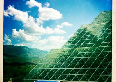 iPhone Hipstamatic: Biosphere II - 01 by Jason Willis