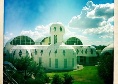 iPhone Hipstamatic: Biosphere II - 02 by Jason Willis