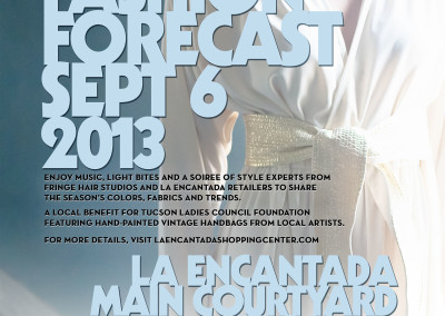 "La Encantada - ""Fall Fashion Forecast"" Signage"