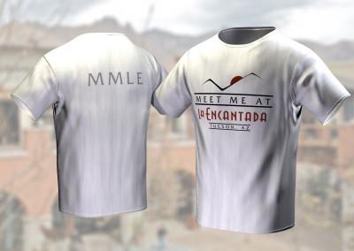 Meet Me At La Encantada - T-Shirt Design