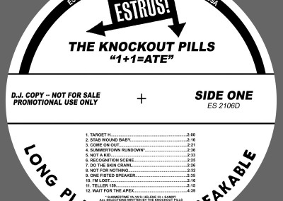 Knockout Pills - 1+1=ATE - CD (2004) by Jason Willis