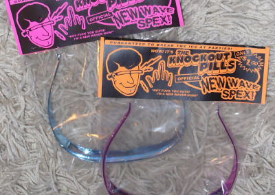Knockout Pills - New Wave Spex (Tour Novelty Item, 2003) by Jason Willis
