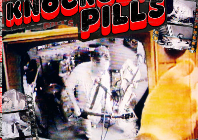 Knockout Pills - S/T LP Front (2003) by Jason Willis